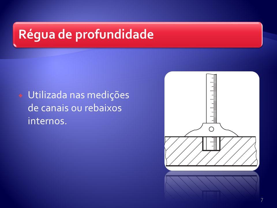 Utilizada nas medições de canais ou rebaixos internos.
