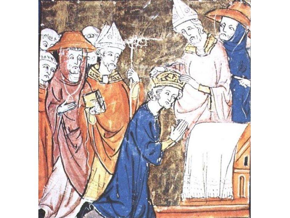 A coroação de Carlos Magno Imperador – pintura mural.