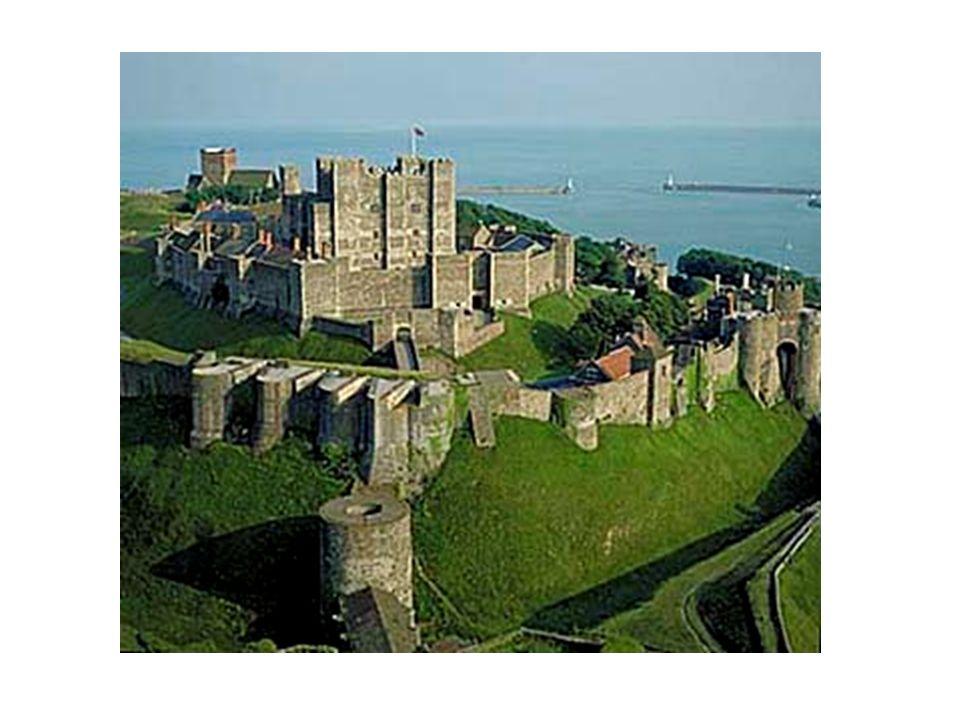 Castelo medieval na Inglaterra.
