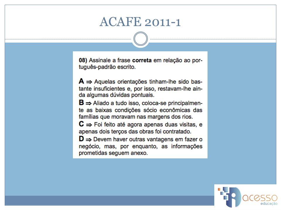 ACAFE 2011-1 A