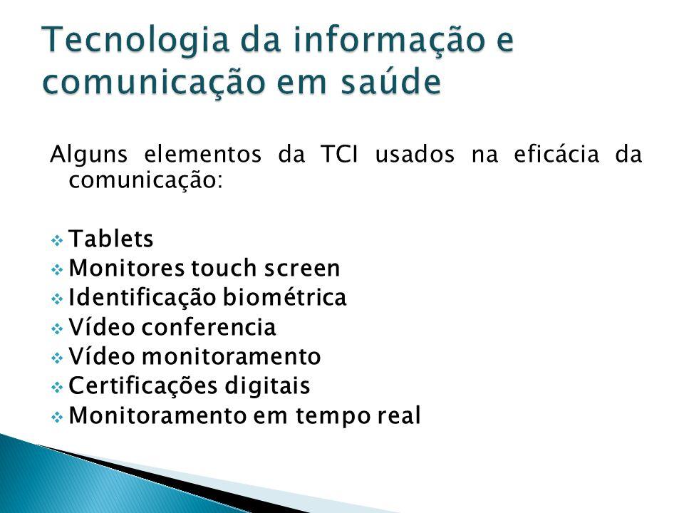 Tecnologia da informação e comunicação em saúde