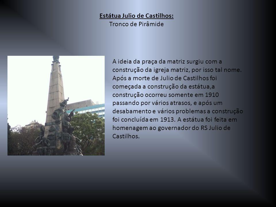 Estátua Julio de Castilhos: