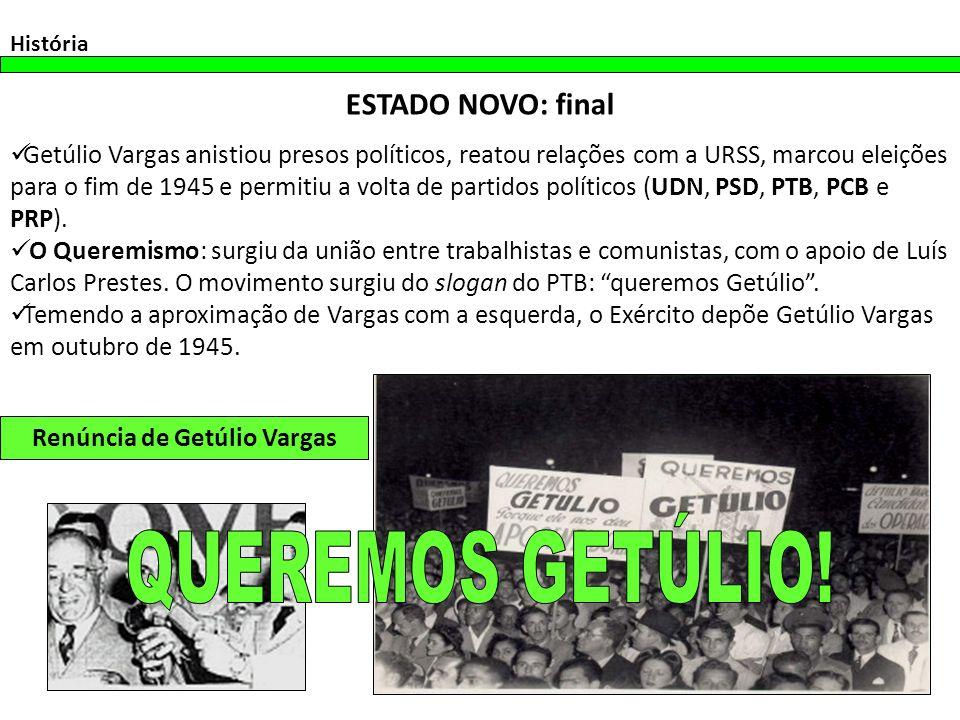 Renúncia de Getúlio Vargas