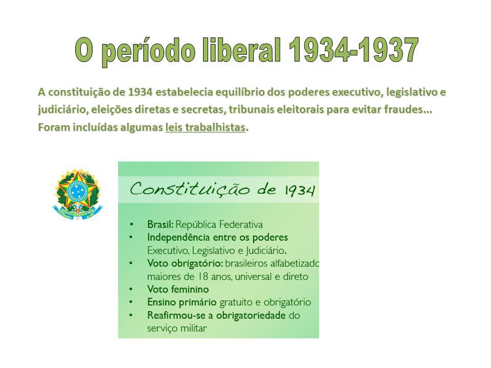 O período liberal 1934-1937