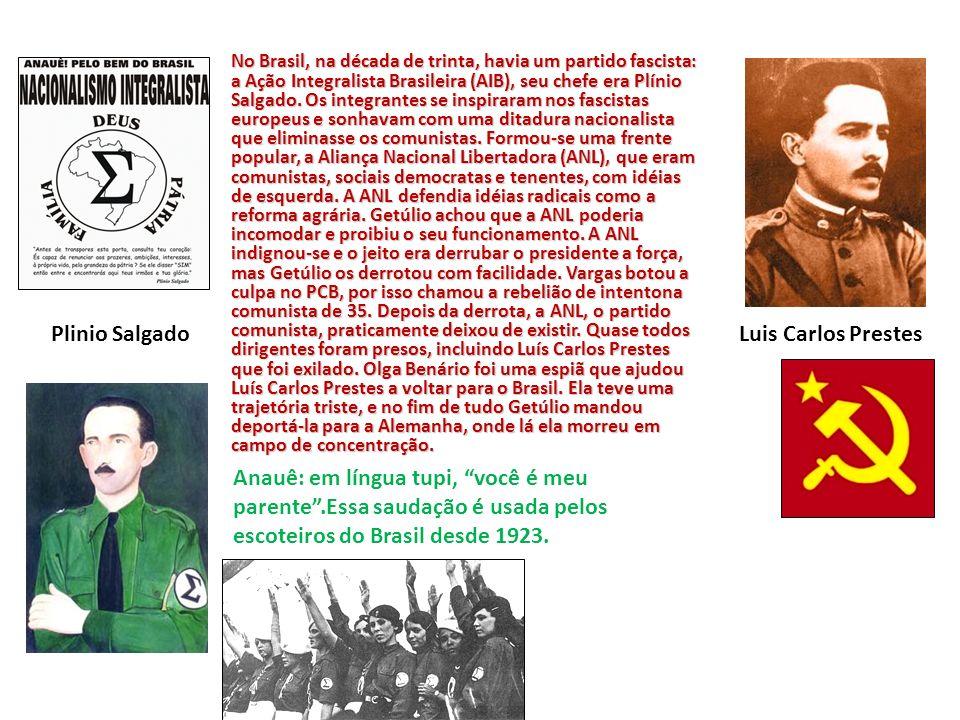 Plinio Salgado Luis Carlos Prestes