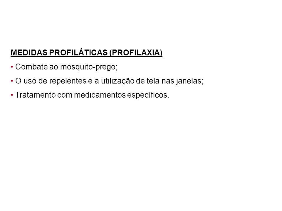 MEDIDAS PROFILÁTICAS (PROFILAXIA)