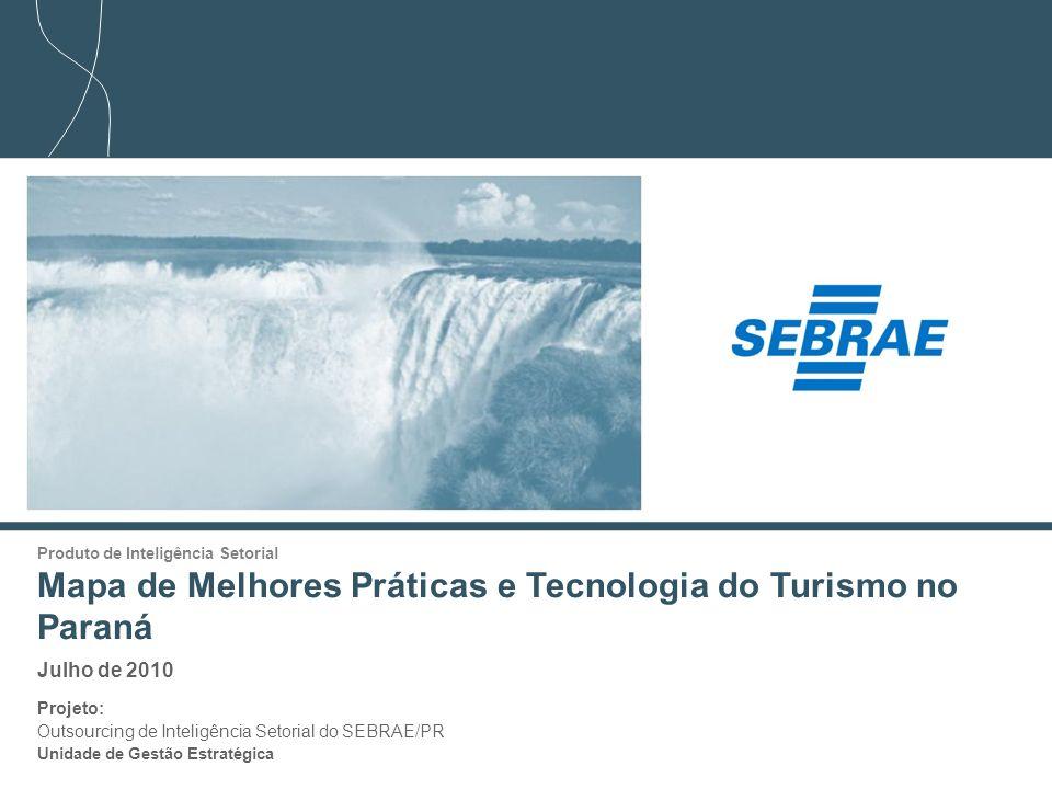 Mapa de Melhores Práticas e Tecnologia do Turismo no Paraná
