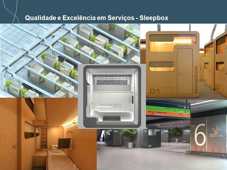 Qualidade e Excelência em Serviços - Sleepbox