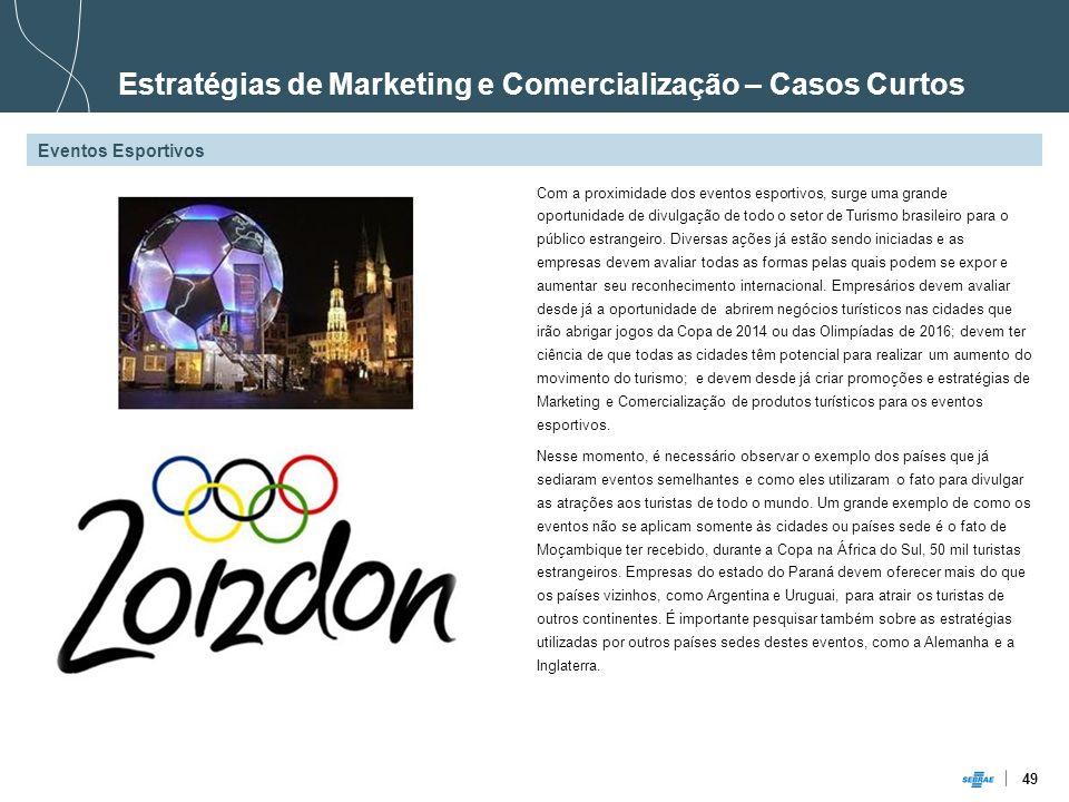 Estratégias de Marketing e Comercialização – Casos Curtos