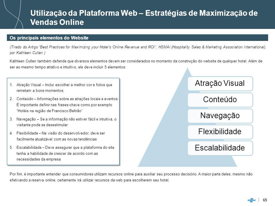 Utilização da Plataforma Web – Estratégias de Maximização de Vendas Online