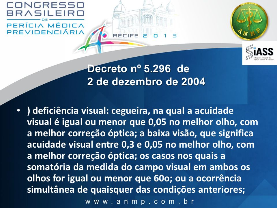 Decreto nº 5.296 de 2 de dezembro de 2004