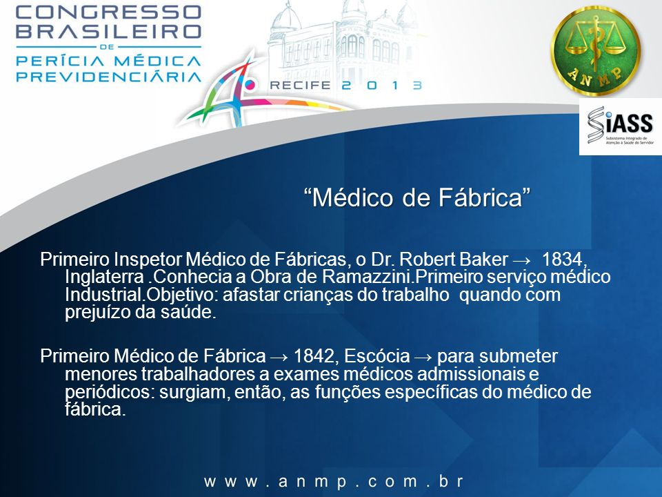 Médico de Fábrica