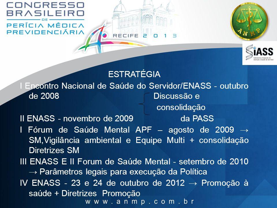 II ENASS - novembro de 2009 da PASS
