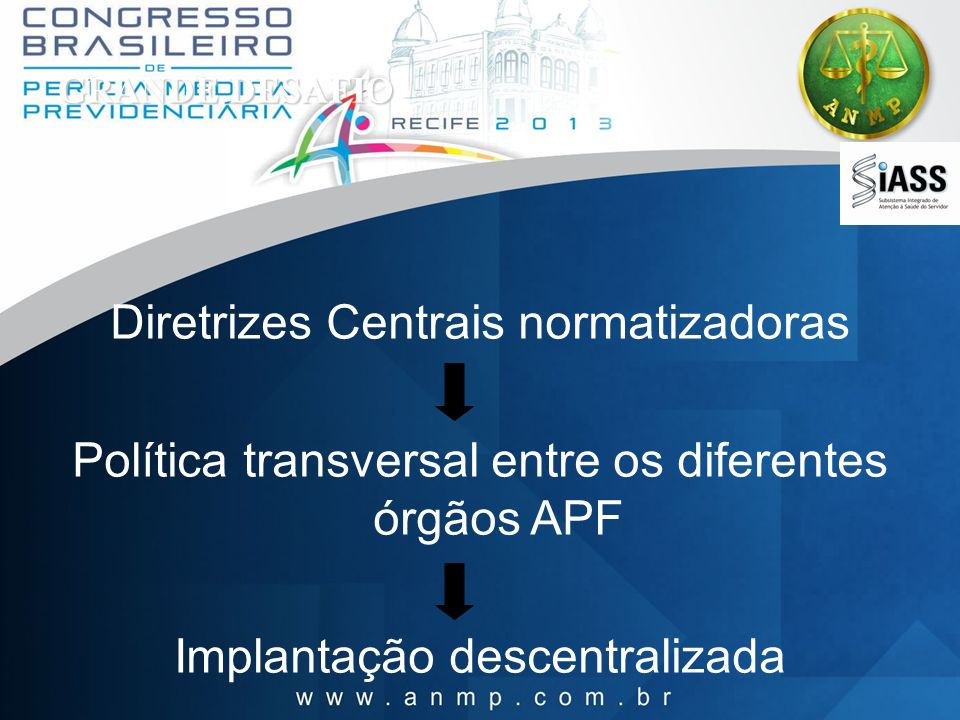 Diretrizes Centrais normatizadoras