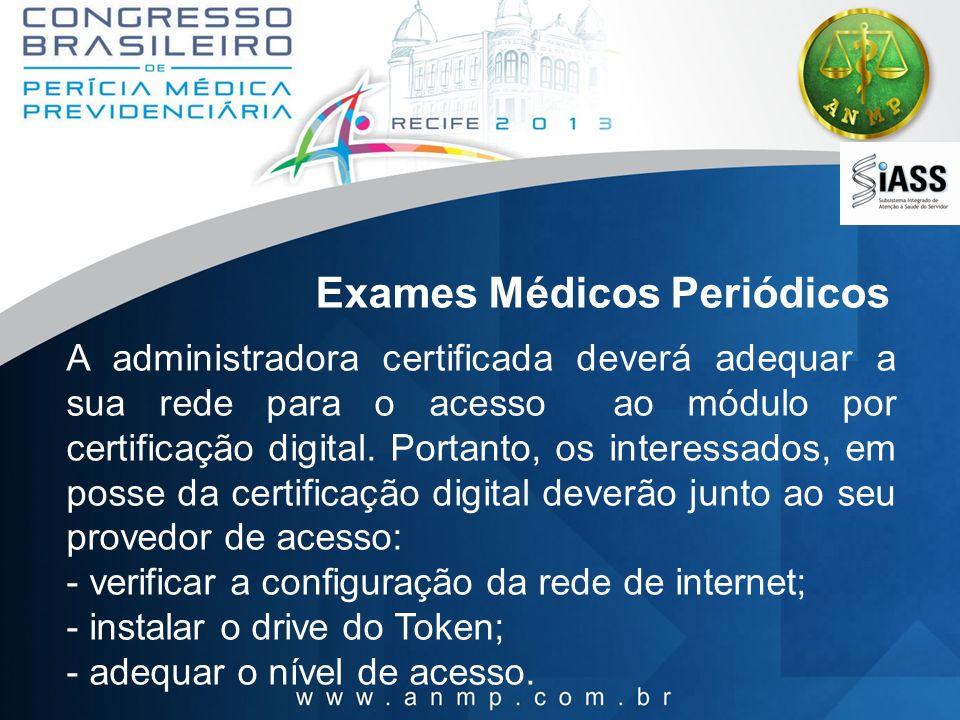 Exames Médicos Periódicos