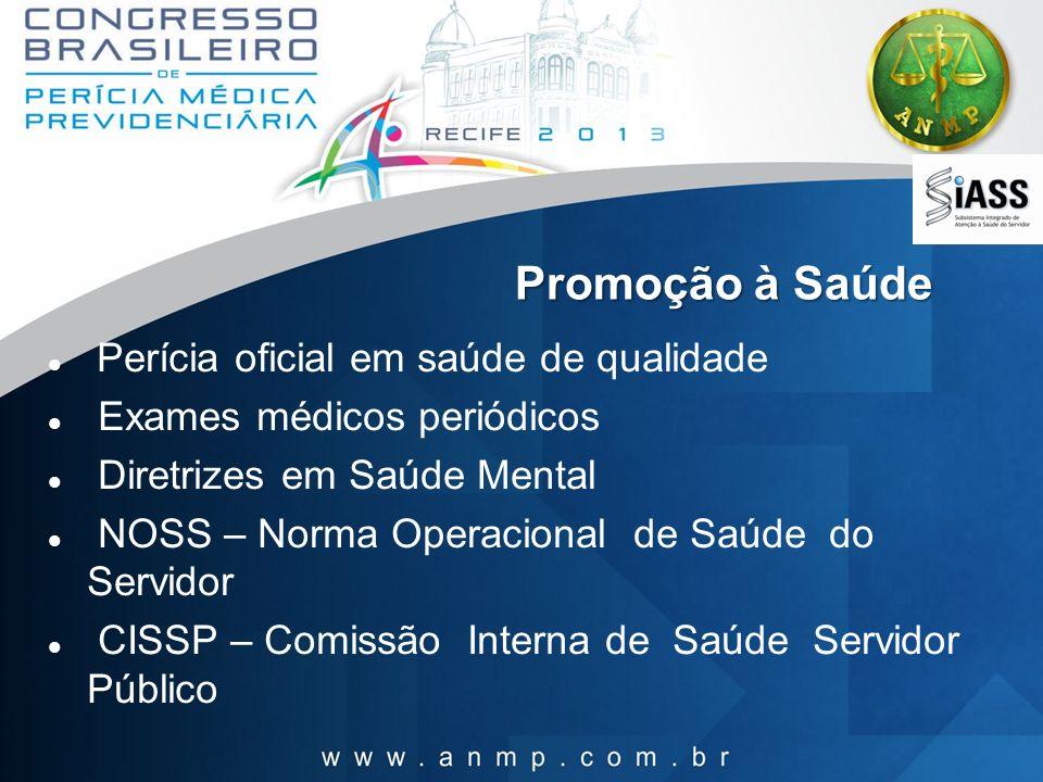 Promoção à Saúde Perícia oficial em saúde de qualidade