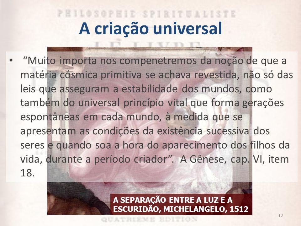A criação universal