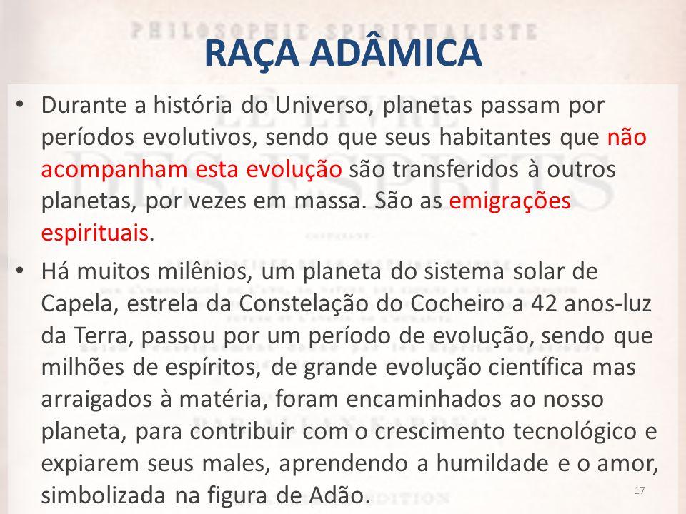 RAÇA ADÂMICA