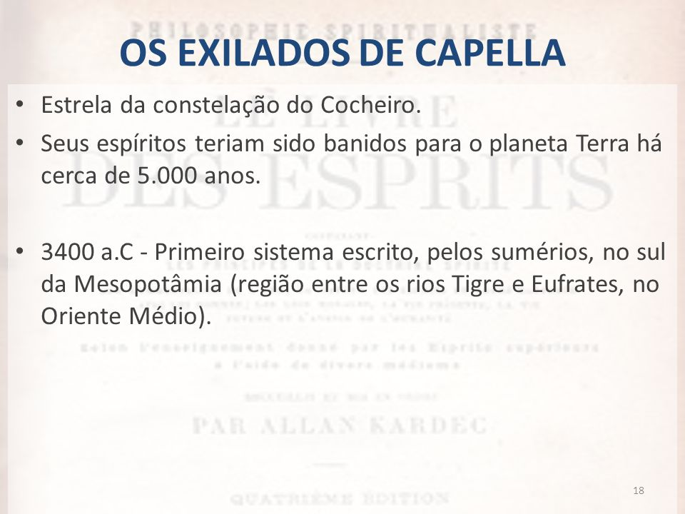 OS EXILADOS DE CAPELLA Estrela da constelação do Cocheiro.