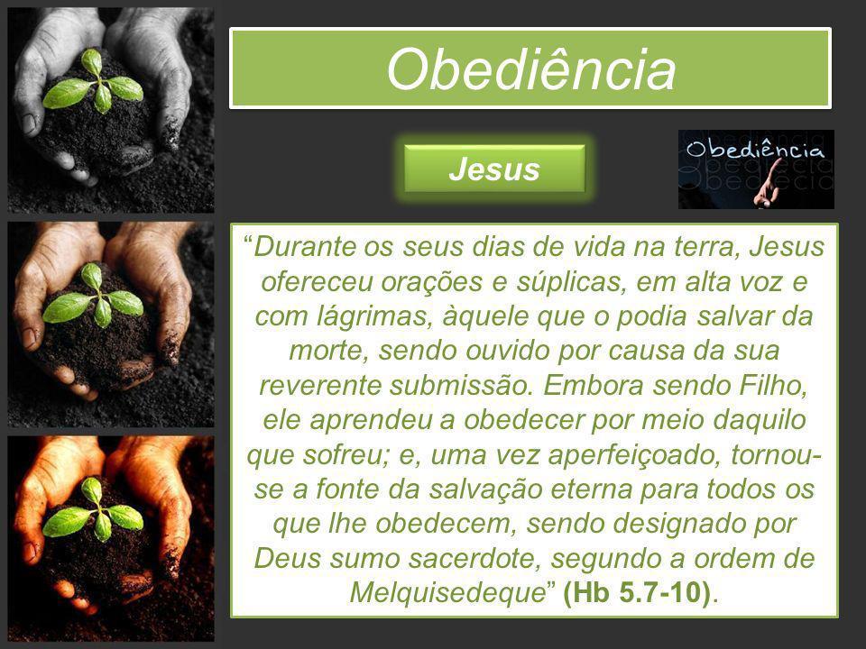 Obediência Jesus.