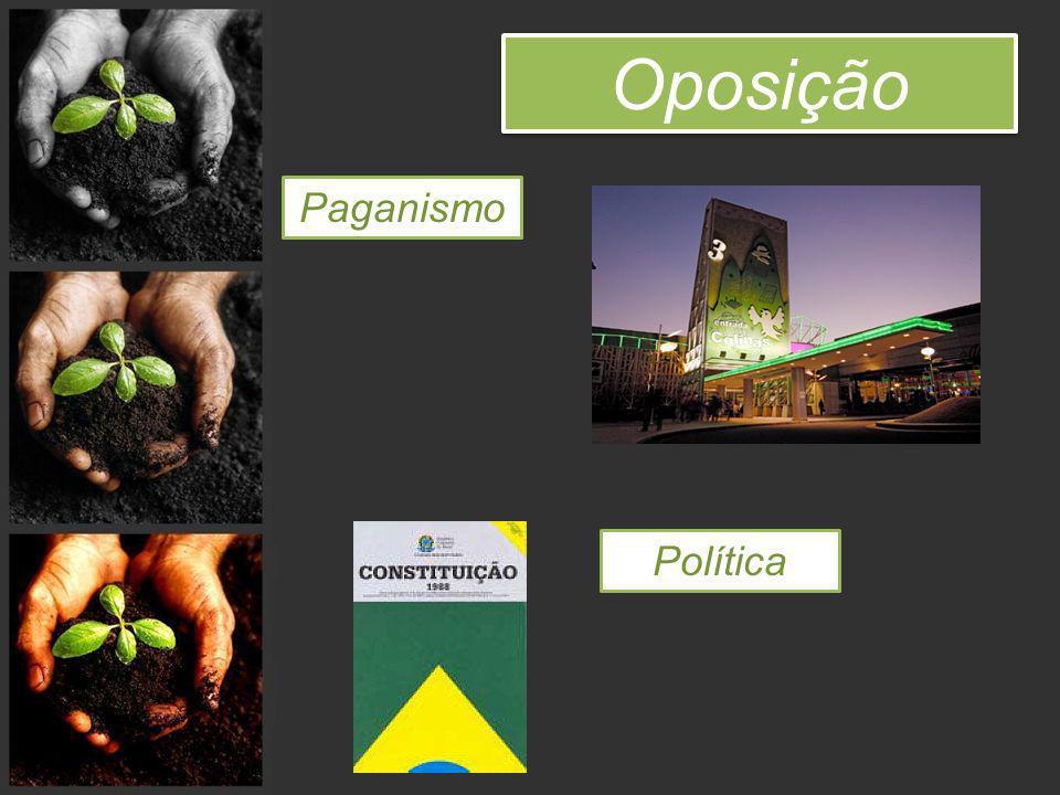 Oposição Paganismo Política