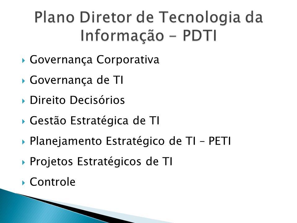 Plano Diretor de Tecnologia da Informação - PDTI