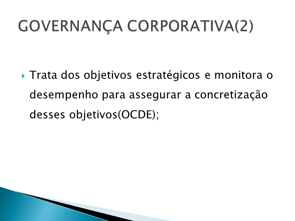 GOVERNANÇA CORPORATIVA(2)