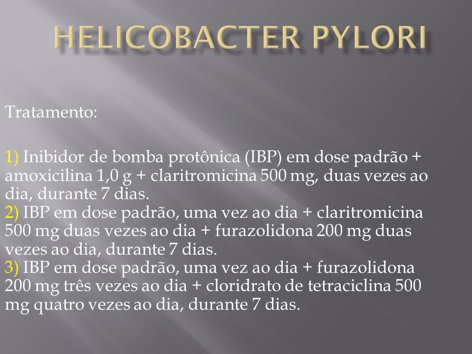 Helicobacter pylori Tratamento: