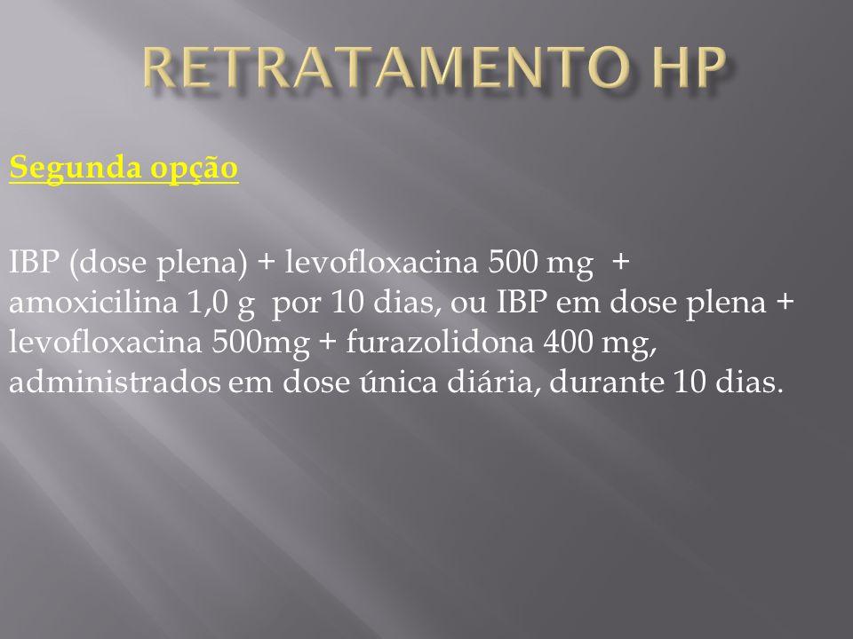 Retratamento HP Segunda opção