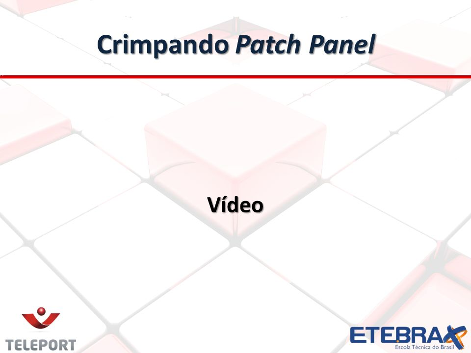 Crimpando Patch Panel Vídeo