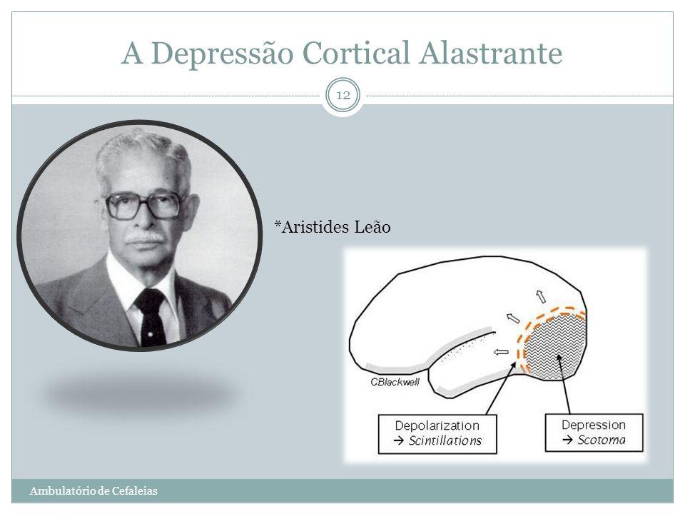 A Depressão Cortical Alastrante