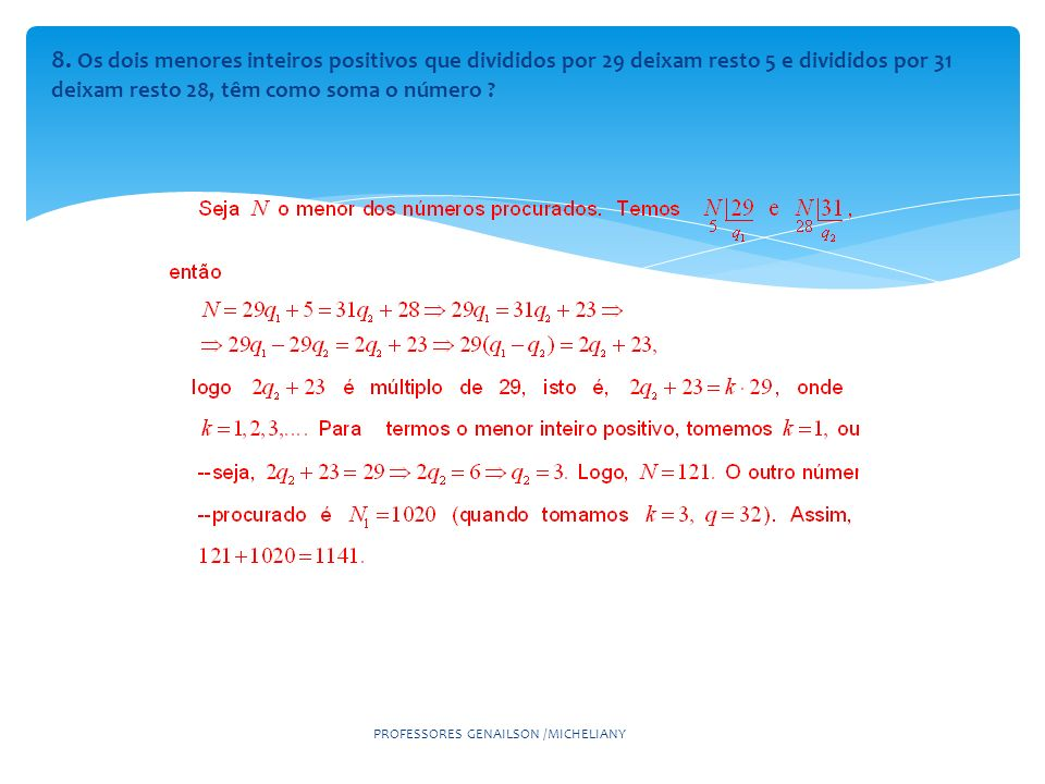 PROFESSORES GENAILSON /MICHELIANY