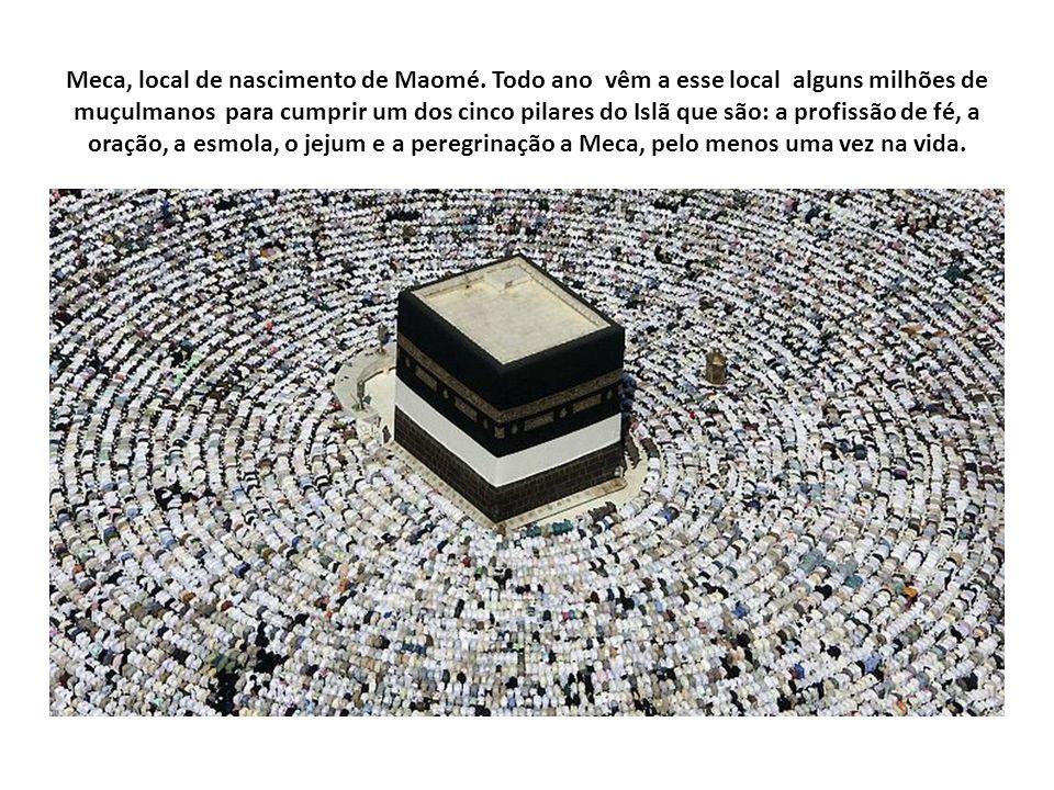 Meca, local de nascimento de Maomé