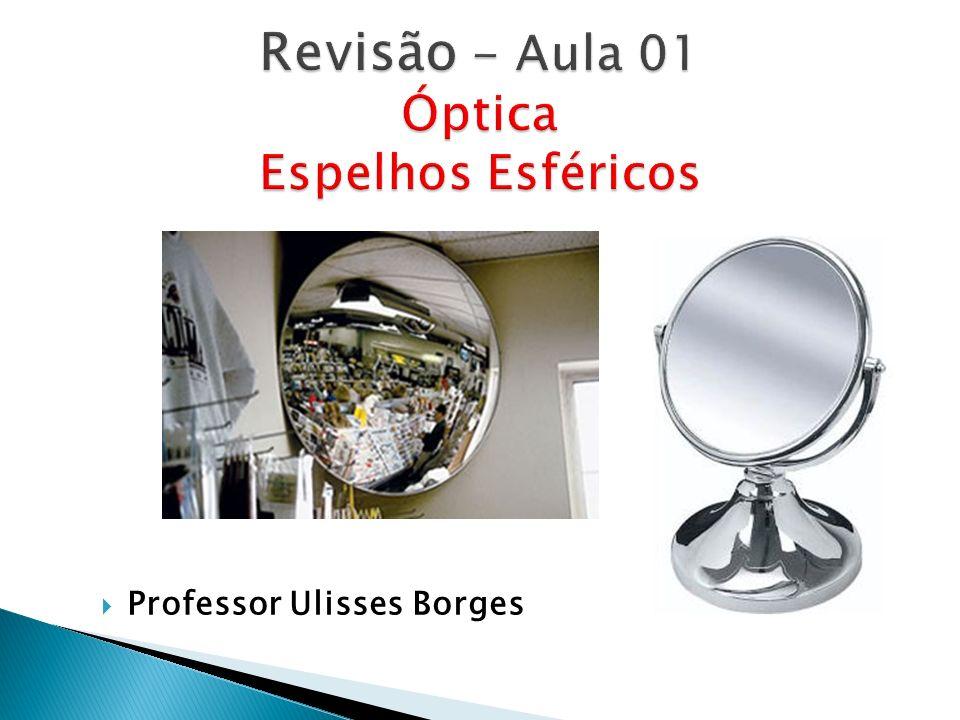 Revisão - Aula 01 Óptica Espelhos Esféricos