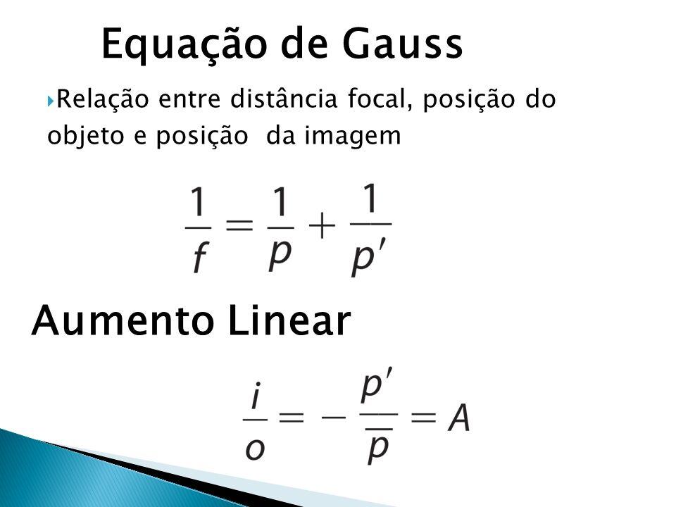 Equação de Gauss Aumento Linear