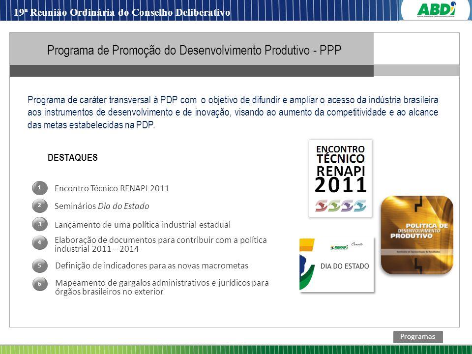Programa de Promoção do Desenvolvimento Produtivo - PPP
