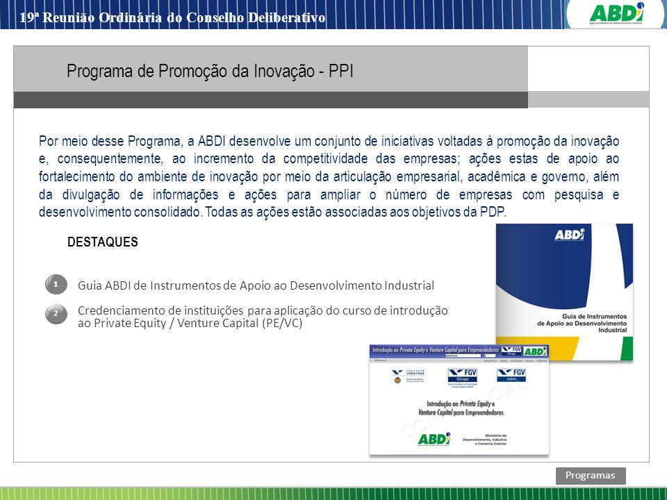 Programa de Promoção da Inovação - PPI