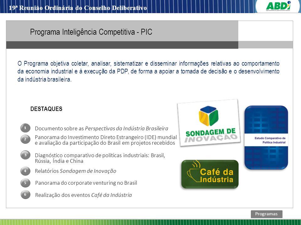 Programa Inteligência Competitiva - PIC