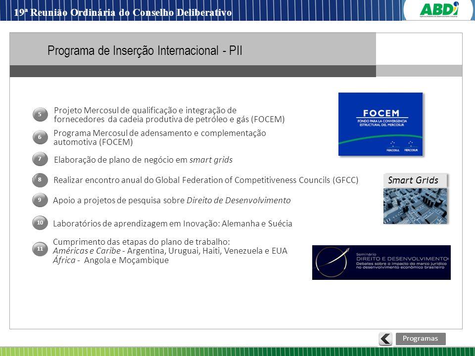 Programa de Inserção Internacional - PII