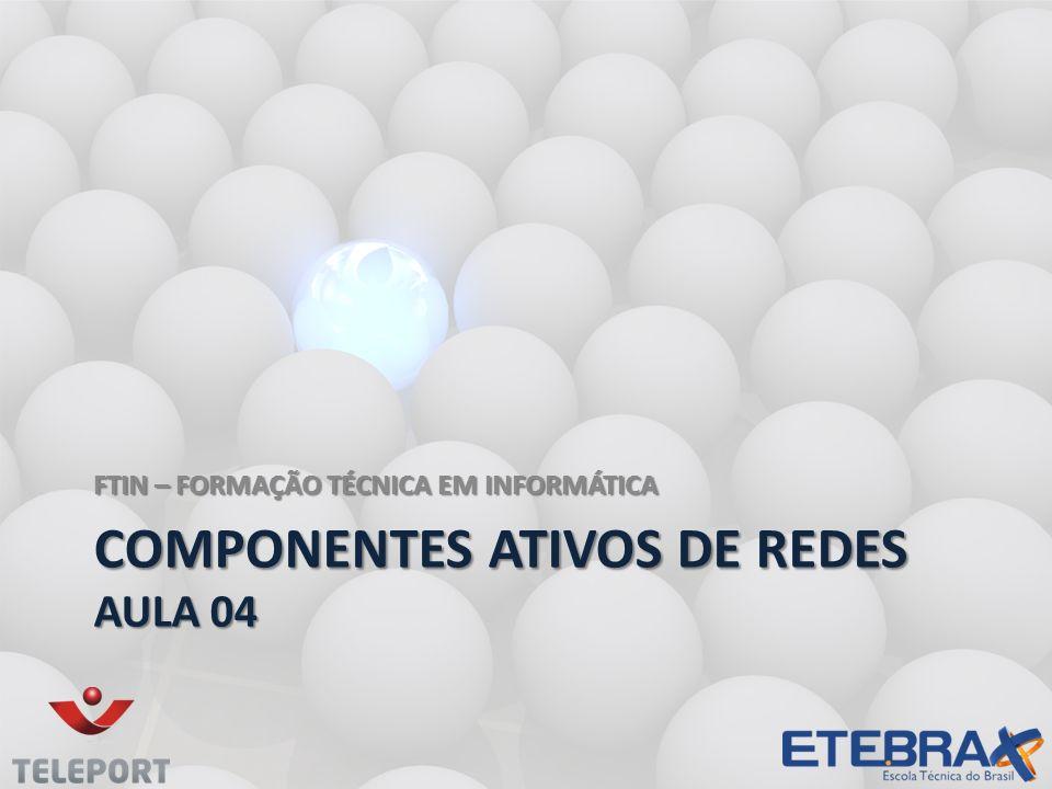 COMPONENTES ATIVOS DE REDES aula 04