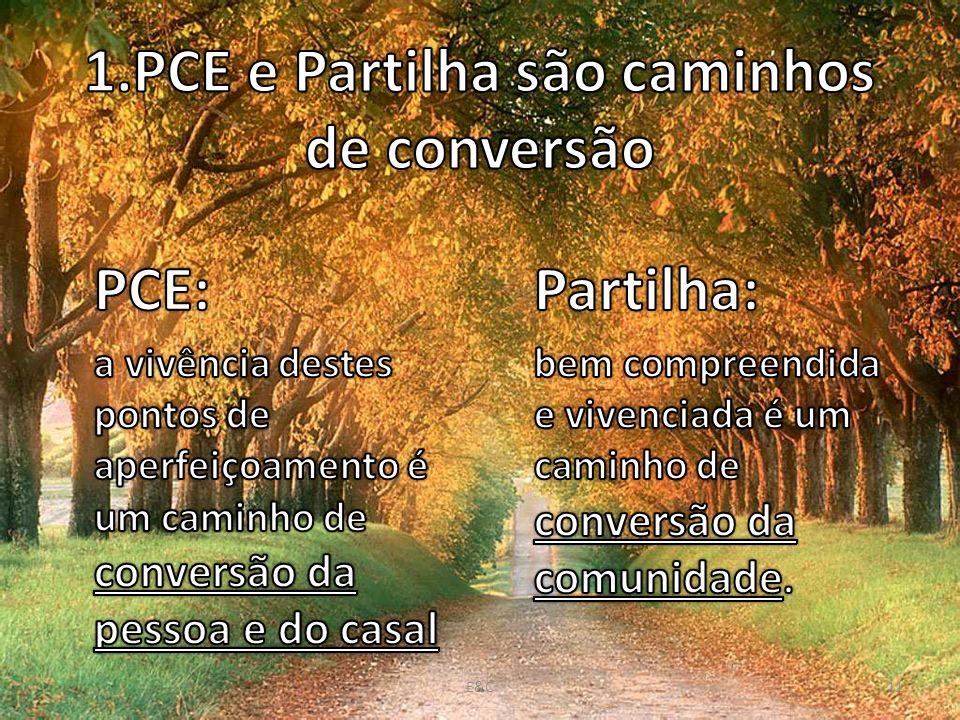 1.PCE e Partilha são caminhos de conversão
