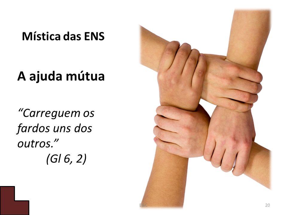 Carreguem os fardos uns dos outros. (Gl 6, 2)