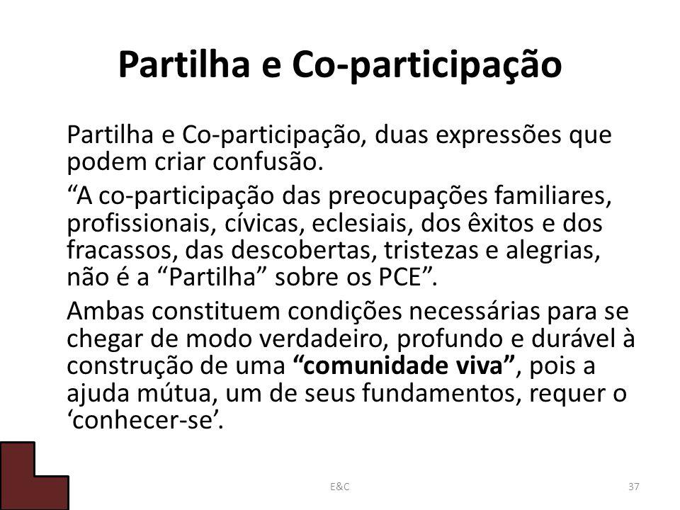 Partilha e Co-participação