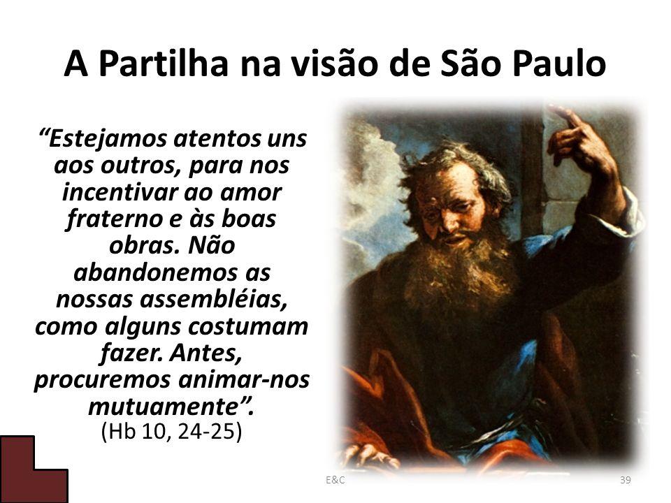 A Partilha na visão de São Paulo