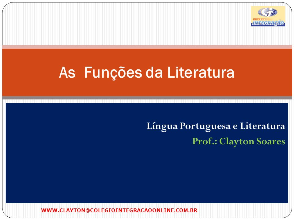 As Funções da Literatura