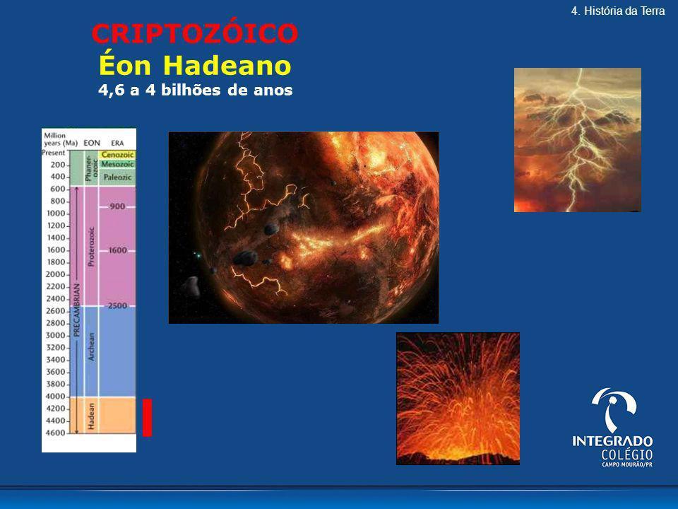 CRIPTOZÓICO Éon Hadeano