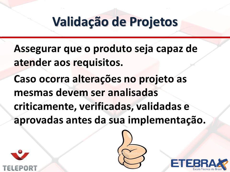 Validação de Projetos