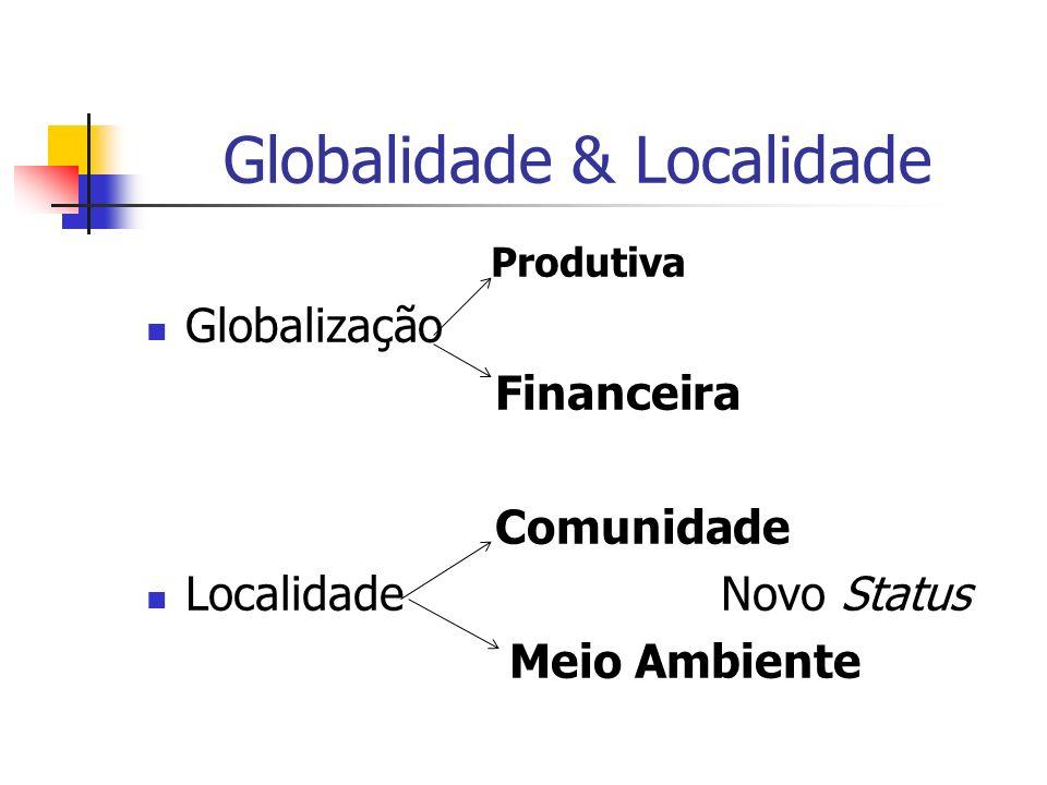 Globalidade & Localidade