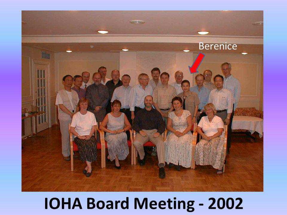 Berenice IOHA Board Meeting - 2002