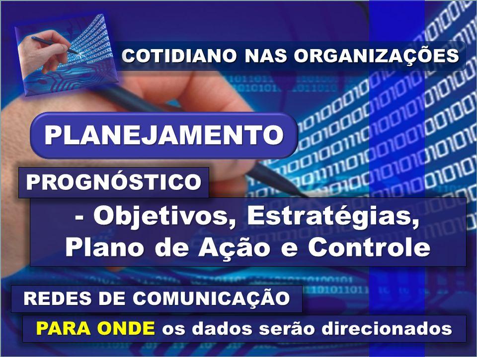 Objetivos, Estratégias, Plano de Ação e Controle